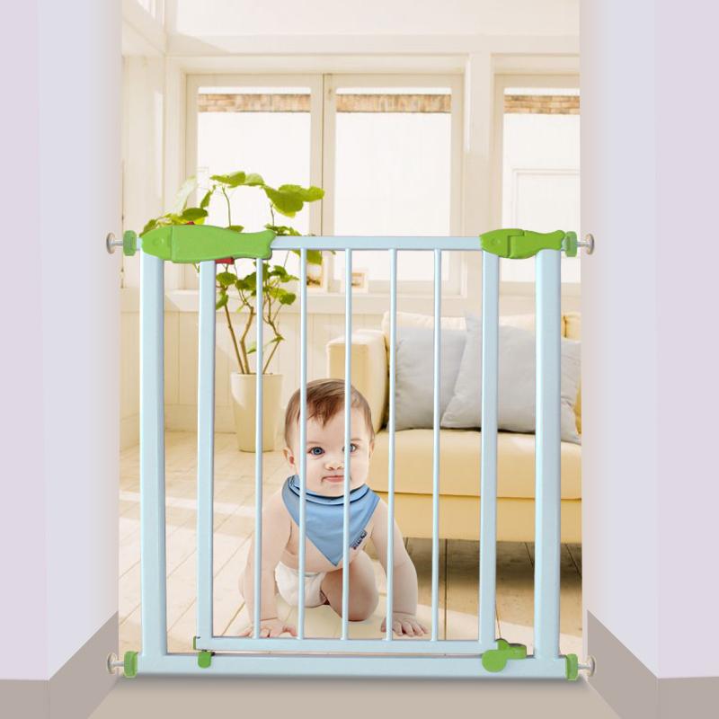 O envio gratuito de Bebê porco porta da segurança do bebê guardrail cerca portão de estimação isolamento escada pet(China (Mainland))
