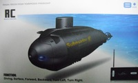 NEW 2013 Happycow 777-216 Simulation Series Radio Control Boat ship 6-CH mini Submarine Toy Black Blue
