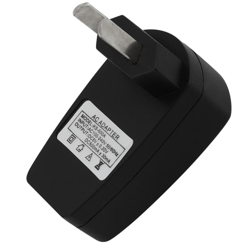 40pcs/lot AU Plug Micro USB Power Adapter Wall Charger AC 110-240V With Led Charging Indication(China (Mainland))