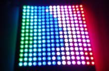 P10mm 16*16pixels INK1002 led digital flexible panel light(INK1003 ICcontrolled),size:17cm*17cm,DC5V input(China (Mainland))