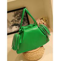 Bag,Handbags, Tassel bucket bag one shoulder mini cross-body bag Women bags  ,Leather wallet