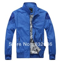 size L-4XL 3 colors Free shipping 2013 new fashion active C brand men print lining windproof men wind jacket MWJ130208