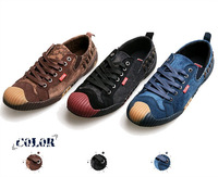 Hot! 2013 kinds of new fashion canvas sneakers frosted low shoes men casual shoes British style, free shipping