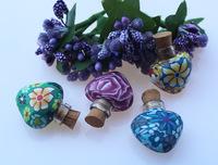 5pcs Aroma pendant(23MMX24MM,1.5ML,assorted),aromatherapy diffuser pendant,Perfume Vials,essential oil pendant