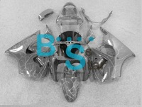 Handcrafted Complete fairing kit for ZZR600 05 06 07 08 2005 2006 2007 2008 ZZR 600 05 06 07 08 2005-2008 All Gray NV45