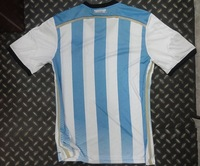 2014 best thai quality Argentina World Cup soccer football jersey soccer jerseys Fans Version Items Custom Sports Jersey