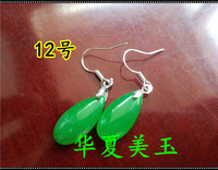 Natural ice kinds of jade emerald Women malay jade earrings earring many kinds of style