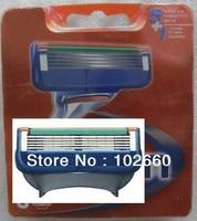 Free Shipping hot Grade AAA 8pcs for 1pack razor blade men sharpener shaving razors blades Retail packaging (8pcs = 1lot)