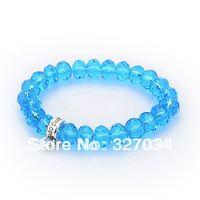 wholesale hot selling Crystal bracelet ts Bracelet cheap jewelry factory price tsb0027 Blue crystal bracelet 1