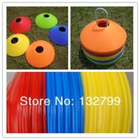 10pcs/Set Space Markers Cones Soccer Football Ball Training Equipment Soft Plastic