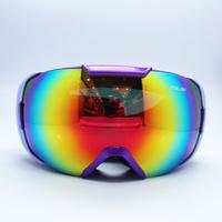 Quality new arrival polisi double layer antimist skiing mirror wide angle mirror male Women ski eyewear