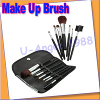 Free shipping+ 5set/lot 7pcs Make Up Brush Set Eyeshadow Eyelash Eyeliner Lipstick Foundation Makeup Tool