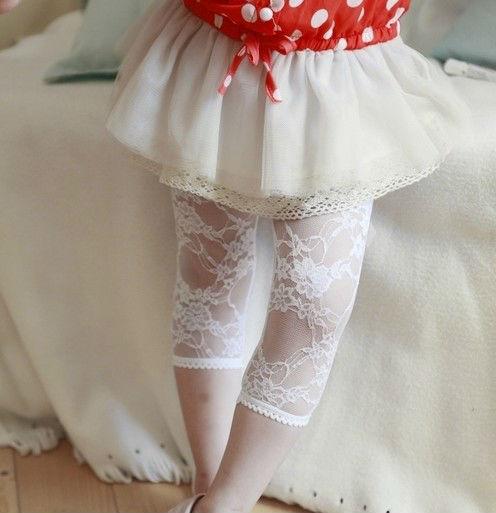 New hat Christmas Gift Wholesale Baby girl leggings toddler summer lace legging Warmer Lace baby pants 4PCS/Lot Free shipping(China (Mainland))