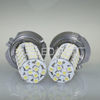 h7 fog light 68smd 3528 patch 68 automotive LED lights front and rear fog lamps highlight the car