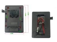 V-Mount power supply system for DV, Monitors, DSLR rig, Studio video light