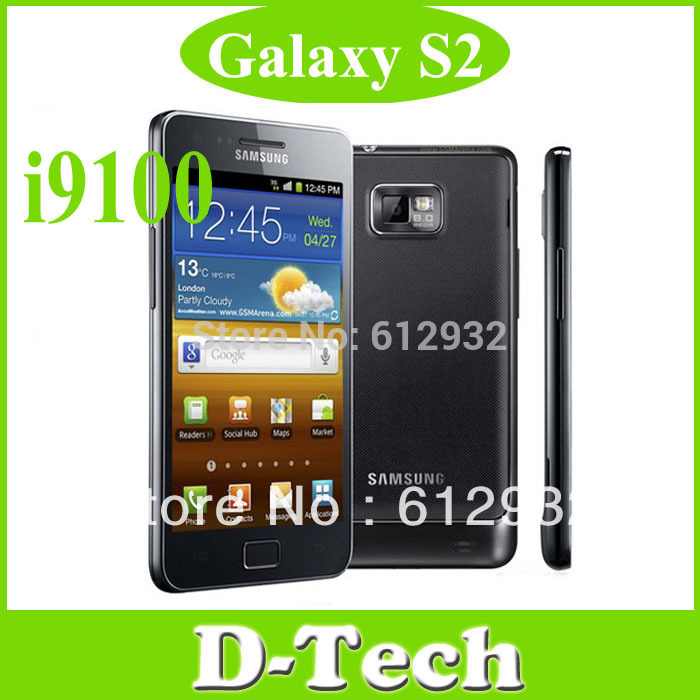 Samsung Galaxy S2 mobile phone Original i9100 Android mobile phone 3G Wifi GPS 8MP Camera Singapore Post Free Shipping(China (Mainland))