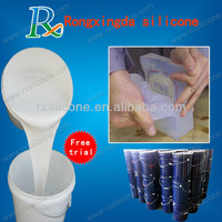 Liquid silicone rubber for epoxy resin product