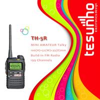 TESUNHO TH-5R long range compact 5w hand held pc programmable pmr 446 walkie talkie