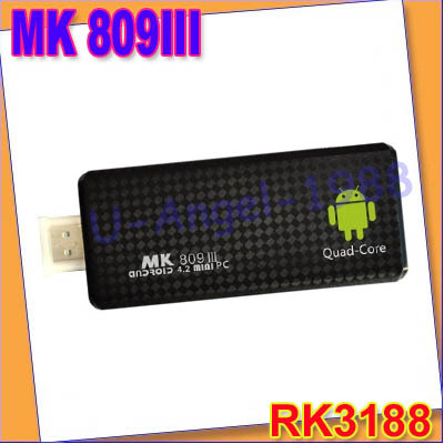 Quad core RK3188 Google TV Box MK809III Android 4.2.2 2GB RAM 8GB ROM 1.8GHz Max Bluetooth Wifi Google TV Player HDMI MK809 III(China (Mainland))