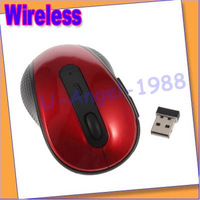 Free shipping+ Comfortable Shape Optical USB Wireless 2.4GHz Mouse for Laptop PC