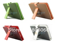 "New Mesh PU Leather USB and micro Keyboard Cover Case Via 7"" inch Tablet Android PC"