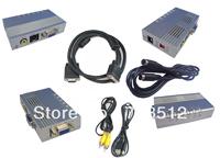 Universal PC VGA to TV Signal Converter Box Switch Box