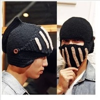 2013 cold-proof winter hat masks dual hat thermal cap knight cap winter hat