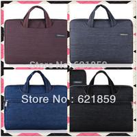new 2014  Multi-use laptop bag sleeve shock package  15.6 15.5 14  14.4 14.1 13.3  12 11 10.6 10.1 10.2 Inch Denim laptop bag