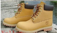 Free Shipping 2013 Classic Outdoor Snow Boots Cowhide Boots Army Boots Men Women Couple Shoes
