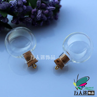 5pcs 24.5MM DIY Wishing Bottle With Ring Corks,Perfume bottle pendant,Fairy Dust Bottles,Aroma pendant