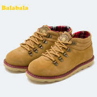 Balabala balabala children shoes children casual shoes male shoes british style autumn 2013