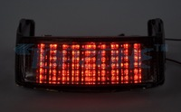 CLEAR Lens Motorcycle Tail Light Integrated Turn signal For HONDA CBR600 F2/F3 91-96