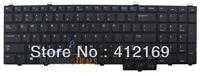 New Laptop Keyboard for Dell 076X2J PK130WR4B00 SG-61610-XUA 13090300087 SN7224BL US black keyboard with mouse point&backlit
