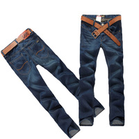 2013 new The thin section men's trousers Slim Straight Jeans wholesale Korean fashion trousers thin section 6169