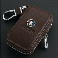 Genuine Leather Automotive Remote Control Bag For Buick Regal Excelle Lacrosse Encore GL8 PARK-AVENUE RIVIERA key Bag Key Case