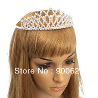 Free Shipping New Mini headband tiara Shining Rhombus style Hair Accessories crown hair Wedding