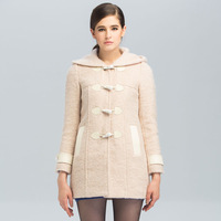 Petit 2013 mofan autumn and winter woolen overcoat outerwear