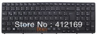 New Laptop Keyboard for SONY VPC-E series 15 SVE15 keyboard with frame&backlit GR German layout