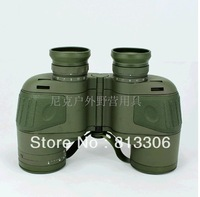FREE SHIPPING Waterproof floating compass ranging telescope 10 x50 binocular