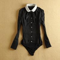 2014 New arrival Korean Style women Brand Blouse, long sleeve shirt OL office ladies' shirt,cotton body blouse  WSH-098