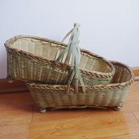 wholesale handmade crafts Bamboo crafts bamboo basket bamboo basket bamboo storage basket