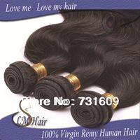 """12""""-26"""" Mixed Length 6pcs lot 50g/pcs 5A grade Wholesale Malaysian Virgin Hair Body Wave Free Shipping Human Hair Weaves Wavy"""