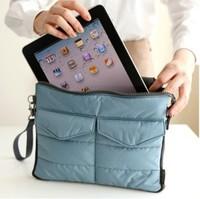 Apple iPad Bag in Bag Inner Bag Binder Organizer Hangbag Insert ipad purse Nylon Digital Organizer Bag cosmetic train cases