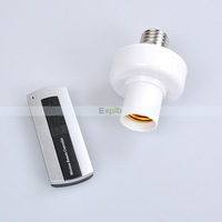 Wireless Remote Control Socket for Light/Lamp Transmitter&Receiver Touch Screen Light Switch Remote Control Light
