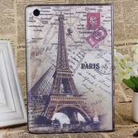 Retro Designe PU Leather Stand Cover England Style Cases For iPad Air iPad 2 3 4  Free Shipping