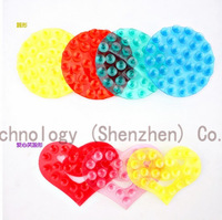 15PCS/LOT Double Magic Sucker, Super Strong Double Sided Suction Cup Mat Bathroom Kitchen Accessories Sets