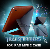 Ultra Slim Thin For iPad Mini 2 Magnetic Smart Cover,For iPad Min Retina Folding Stand Transformer 1PCS Free Postage
