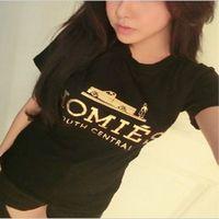 Women's 2014 summer homies short-sleeve t-shirt female