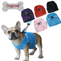 Free shipping!!!! 5 Colors 5 Sizes Available ,Pet Control Harness for Dog & Cat Soft Mesh Walk Collar Safety Strap Vest