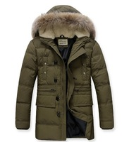 Free shipping 90% duck down new design Men's down jacket winter overcoat Outwear winter coat wholesale and retail